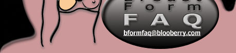 site logo: Breast Form FAQ